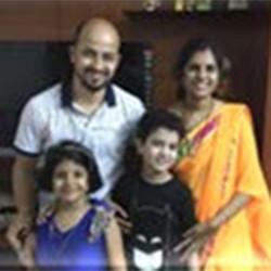 Vikash Chandra and Rashmi Chandra