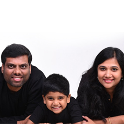 Saran & Lalitha (Nihaal's Parents) UKG A