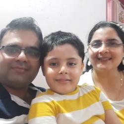 Mr. Bhavik Zala and Mrs. Jinna Zala