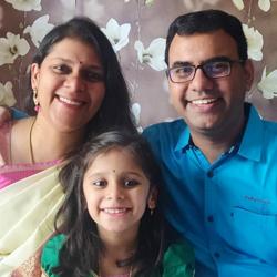 Parents of Megha (UKG D)