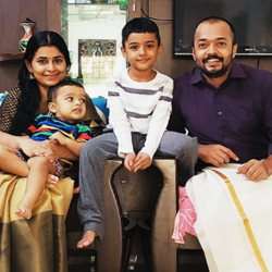 Mr. Sreejesh Pulukool and Mrs. Indhu Thekumbadan